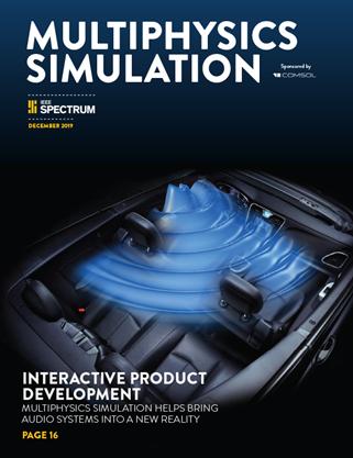 Apresentamos a Multiphysics Simulation de 2019: Áudio para Sistemas de Entretenimento