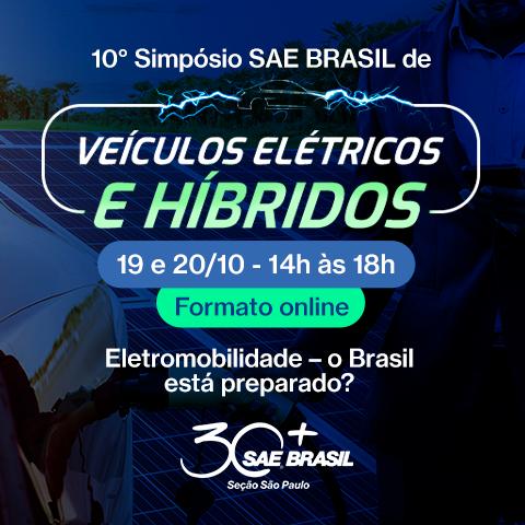 10º Simpósio SAE BRASIL de Veículos Elétricos e Híbridos – Seção São Paulo