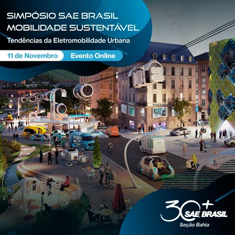 Simpósio SAE BRASIL de Mobilidade Sustentável 2021 – Seção Bahia