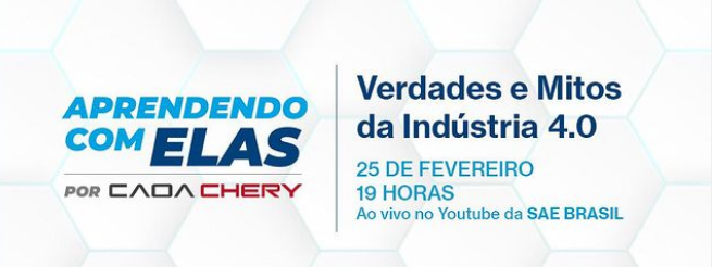 """Caoa Chery patrocina projeto """"Aprendendo com Elas"""" da SAE BRASIL"""